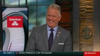 NFL on CBS StateFarm Post Game Show 2018 week 11