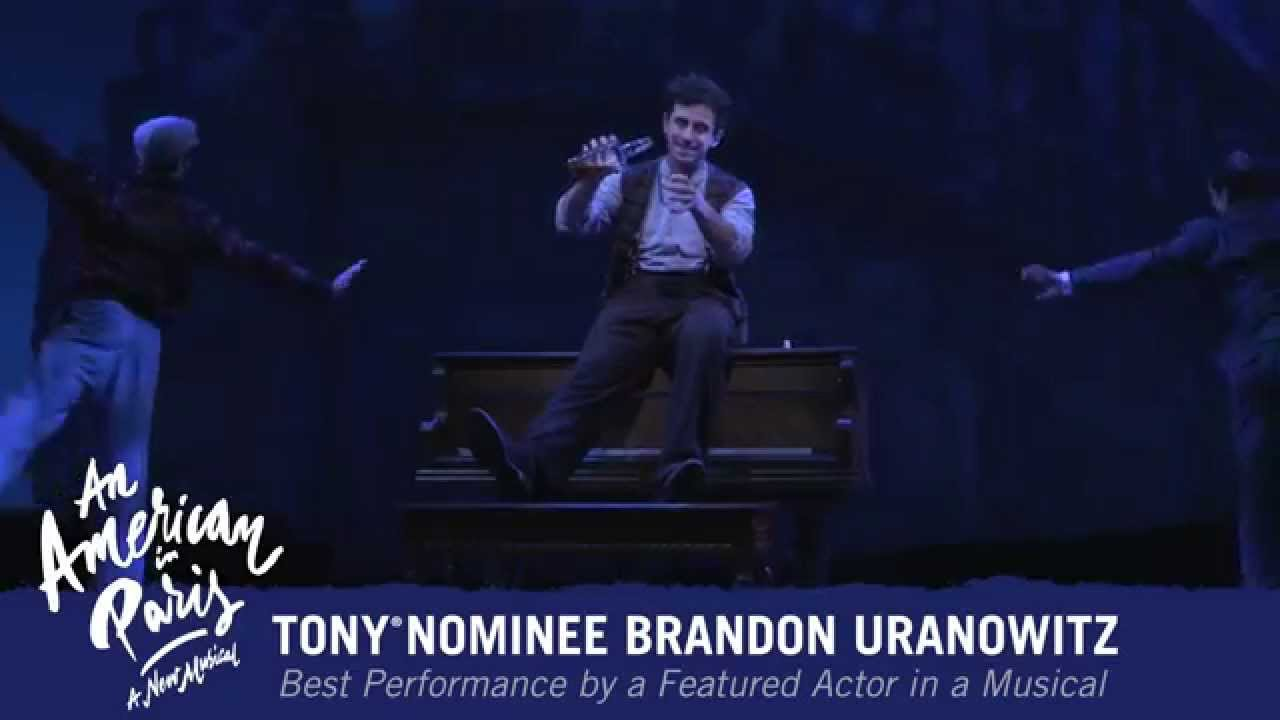 An American in Paris on Broadway - Tony® Nominee Brandon ...