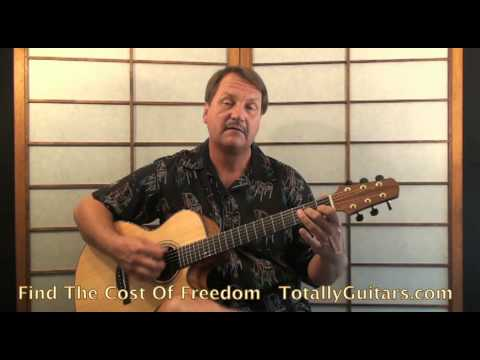 Csny Find The Cost Of Freedom Acoustic Guitar Lesson Youtube