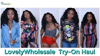 I SPENT $100 ON LOVELYWHOLESALE CLOTHES!! | TRY- ON HAUL| SamoreloveTV