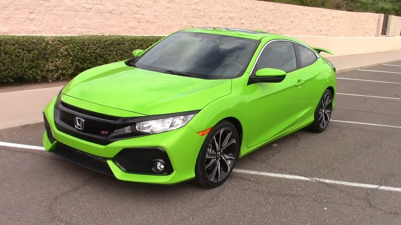2017 honda civic si turbo coupe real world road test for 2017 honda civic si turbo