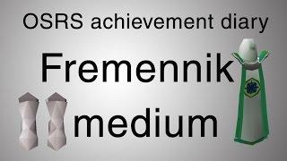 [OSRS] Fremennik medium diary guide