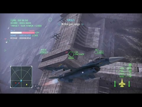 Ace Combat Infinity Mission 6 (Avalon)