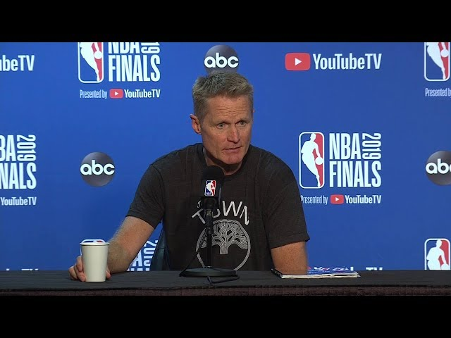 Steve Kerr Full Interview - Game 6 Preview | 2019 NBA Finals Media Availability