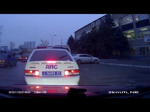 Украинский водитель поставил на место сотрудника ДПС РФ