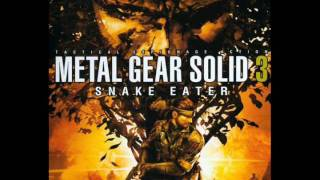 Metal Gear Solid 3 music - Fortress Sneaking