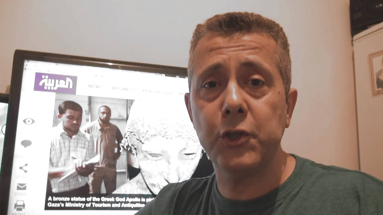 Apollyon The Destroyer Statue Discovered in Gaza - Gorilla199