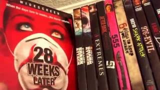 Horror DVD Shelf collection 1