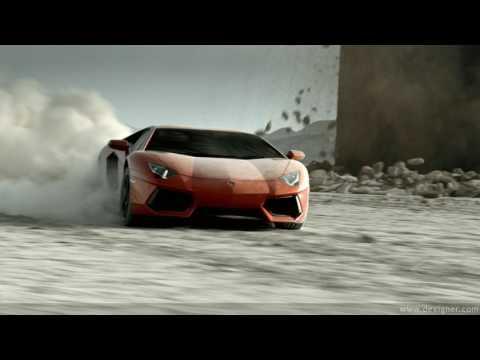 Lamborghini Aventador Trap Music
