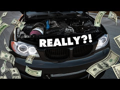 HOW MUCH I SPENT to Single Turbo my BMW 135i! (Complete $hopping List)