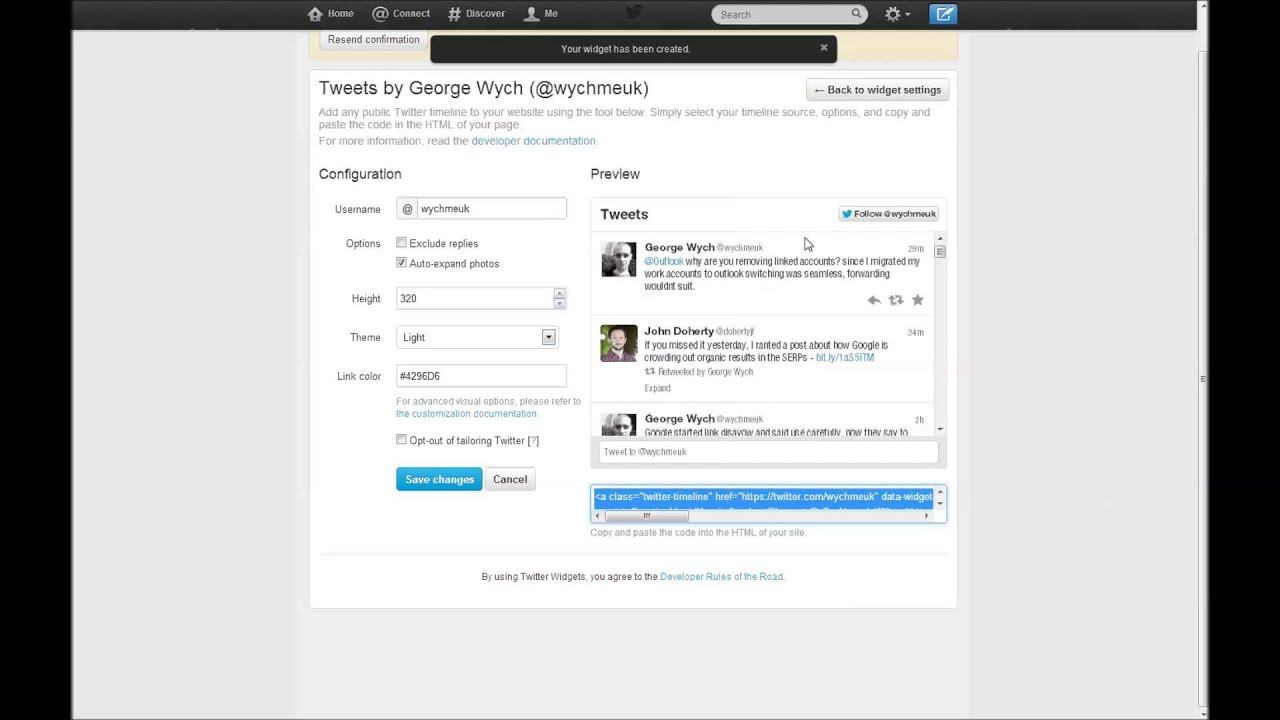 How To: Add Twitter Feed (v1.1 API) to a Wordpress Site in Under 2 ...