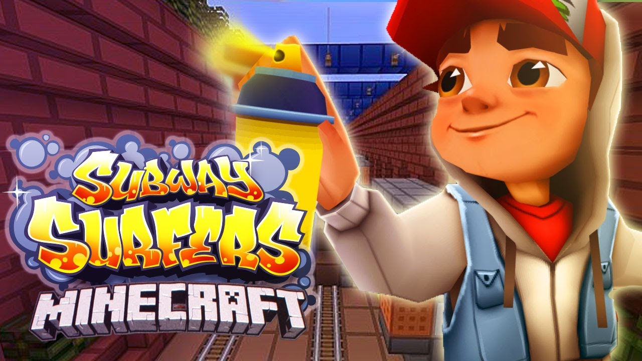 Subway Surfers En Minecraft Mini Juego Youtube