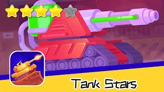 Tank Stars Day147 Toxic Walkthrough Epic Shooting Battle Game Recommend index four stars