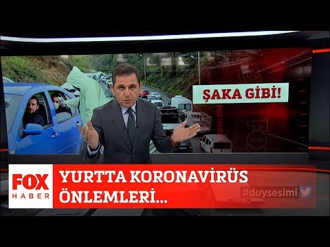 Yurtta Koronavirüs önlemleri... 3 Nisan 2020 Fatih Portakal Ile FOX Ana Haber