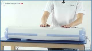 видео Облучатель-рециркулятор воздуха ультрафиолетовый бактерицидный передвижной