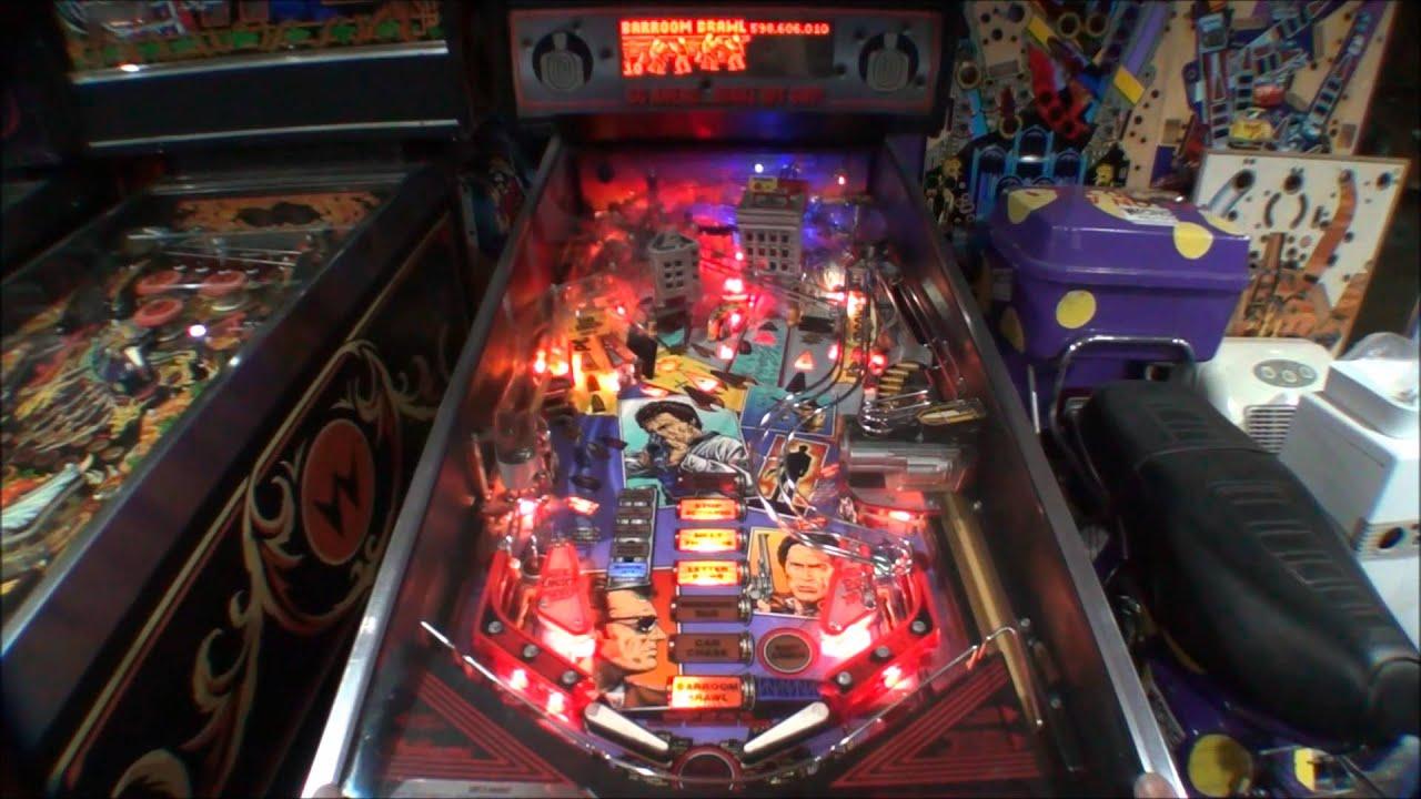 harry pinball machine
