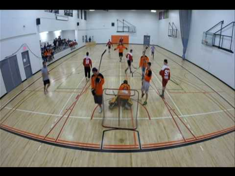 Youth for Christ Ball Hockey Championship Game 1
