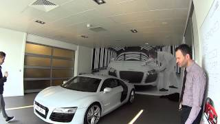 Collecting my new Audi R8 V8 version 2