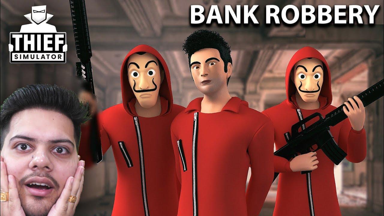 I AM CHOR - Robbing House After Watching Money Heist 😂 | Thief Simulator