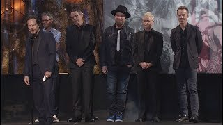 Pearl Jam Induction Acceptance Speeches - 2017 Rock Hall Inductions