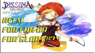 Dissidia Final Fantasy: Opera Omnia RELM FOR FUN OR FOR GLORY!?