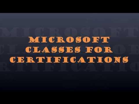 Microsoft Classes at Starmount High School