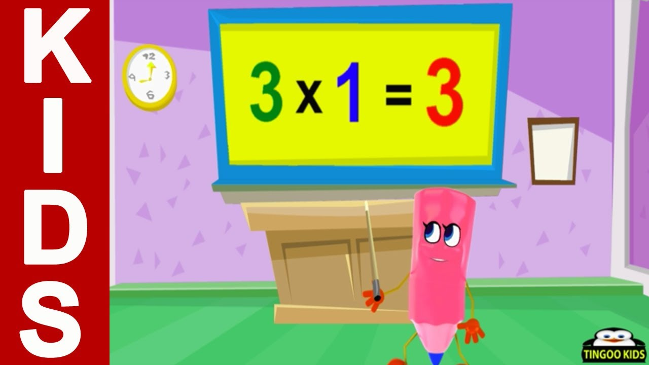 Home school math 3 times table song kids songs with lyrics home school math 3 times table song kids songs with lyrics math tutorial in english youtube gamestrikefo Choice Image