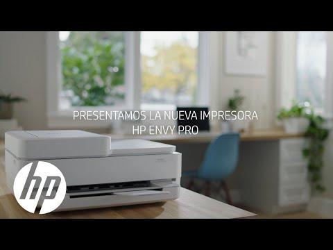 Nueva impresora HP ENVY Pro serie 6400