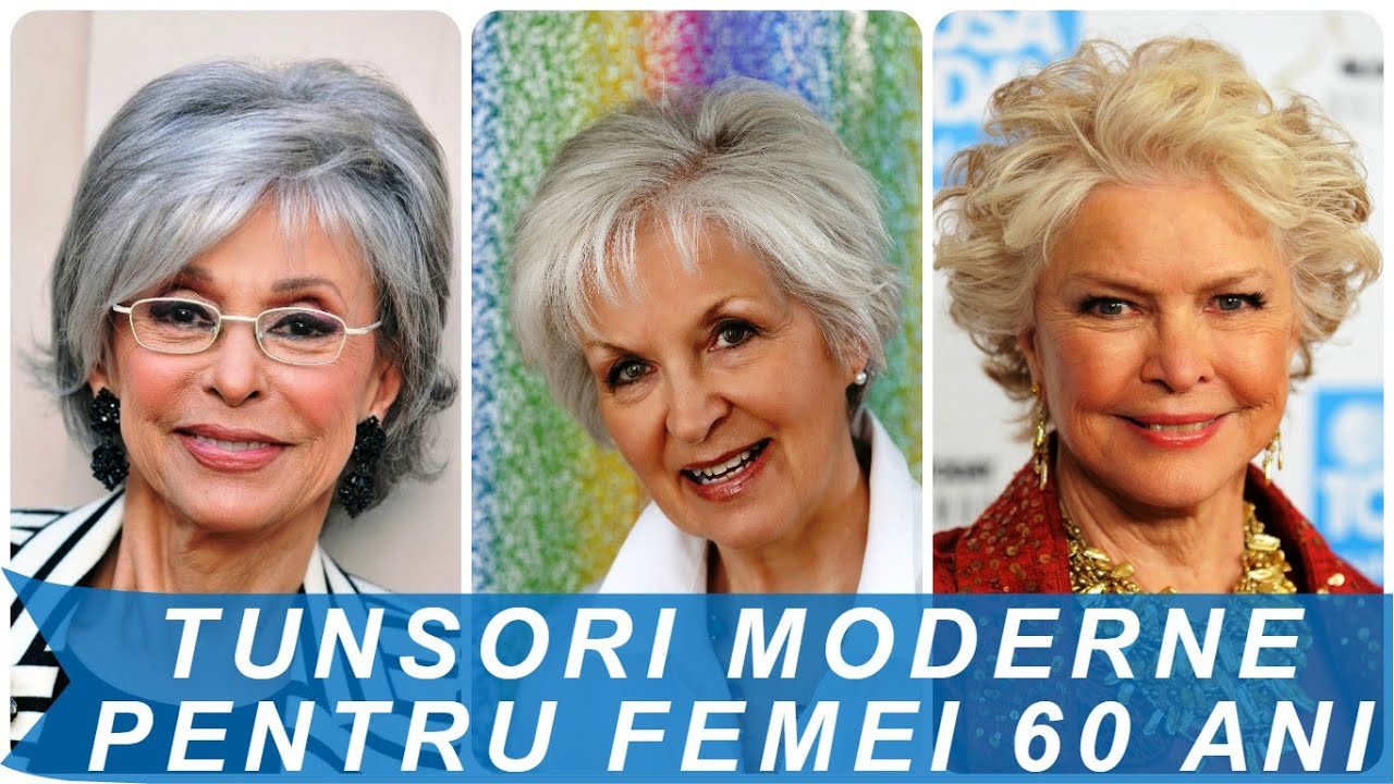 Tunsori Moderne Pentru Femei 60 Ani Youtube