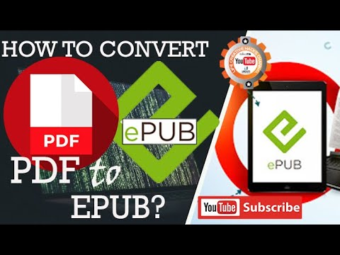 How To Convert Pdf File To Epub File Format