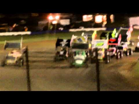 Canandaigua Speedway 305 Sprints Heats And Feature 5-9-15