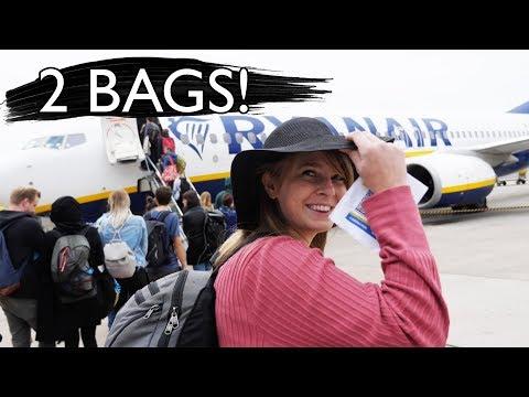Scamming RYANAIR Baggage Allowance ✈️(+ Lisbon Portugal Apartment Tour)