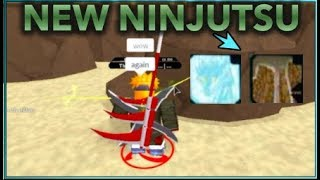 5 NEW NINJUTSU!| [028] UPDATE SHOW CASE!!| ROBLOX Naruto RPG- Beyond |