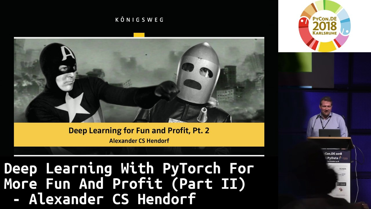 Image from Deep Learning with PyTorch for more Fun and Profit (Part II)