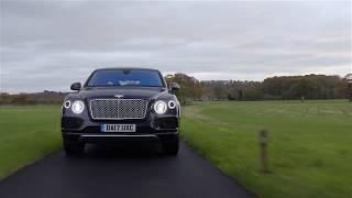 Bentley Bentayga Mulliner, perfect for HUNTING! Promitional video. Gorgeous SUV!