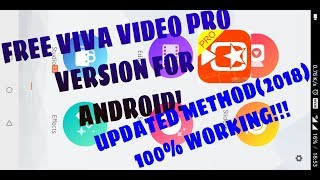 VIVAVIDEO PRO FOR ANDROID FOR FREE! 2018 WORKING METHOD!