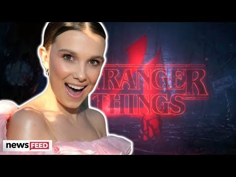 Millie Bobby Brown TEASES Fans With 'Stranger Things 4' Teaser!