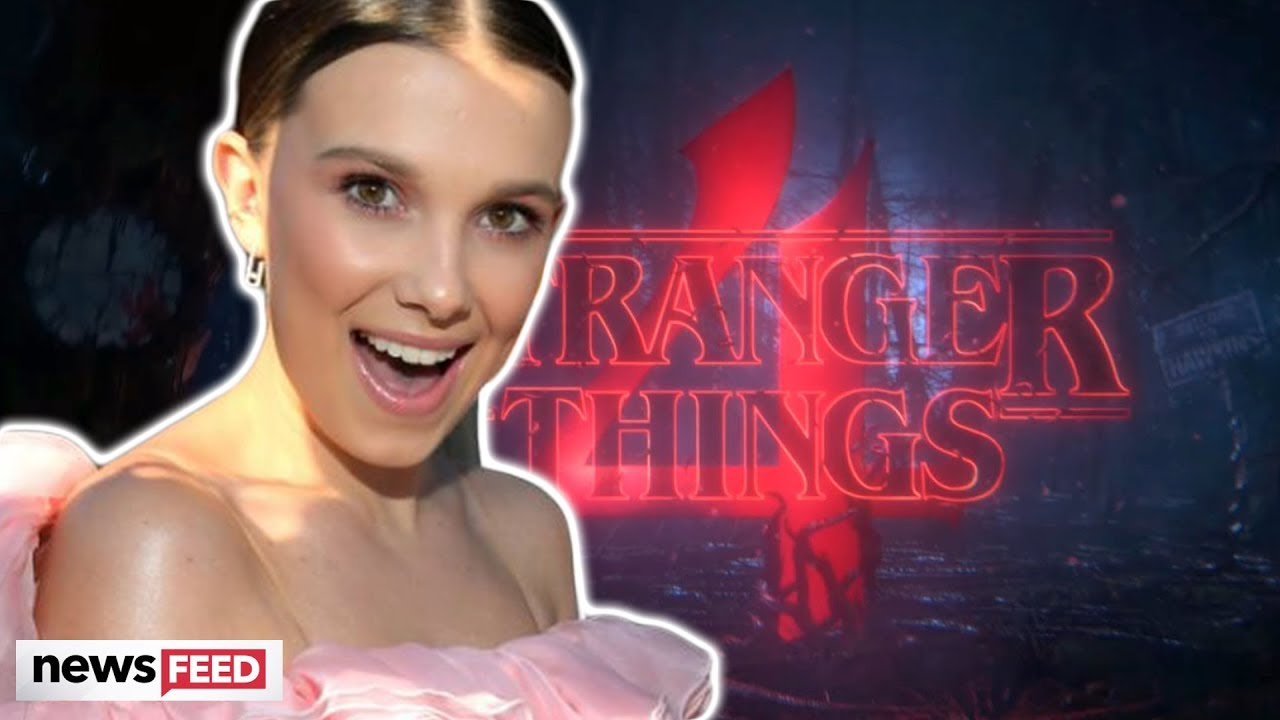 Millie Bobby Brown TEASES Fans With 'Stranger Things 4' Trailer!