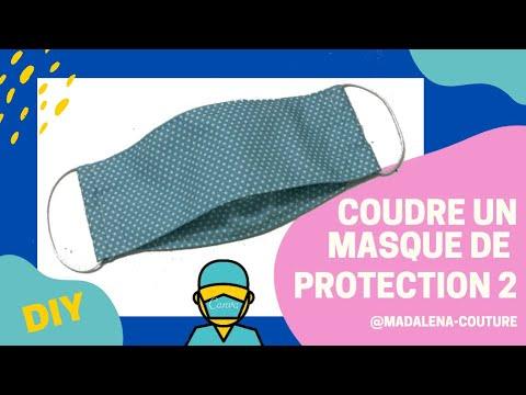 masque visage tissu protection