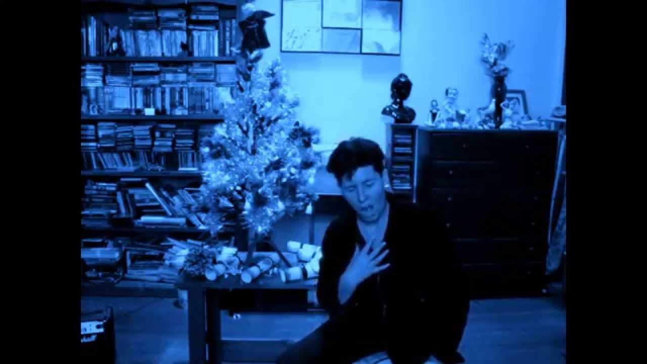 Me singing Blue Christmas Elvis cover - YouTube