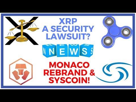Ripple Lawsuit, Monaco Rebrands to CRYPTO, EU Parliament, Switzerland in Today's Update