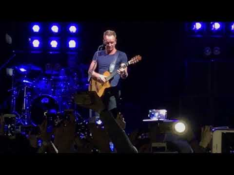 Sting, Fragile, Moscow 2017