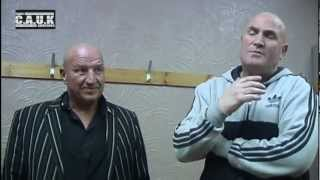 Dave Courtney Andy Topliff and James Quinn Interview - B-BAD 3 - BareKnuckle boxing