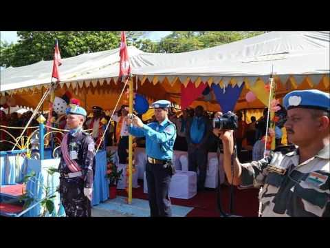 """""""Nepal peacekeepers in the UN Mission """" नेपाल प्रहरीको सबैले हेर्नै पर्ने भीडियो  """""""