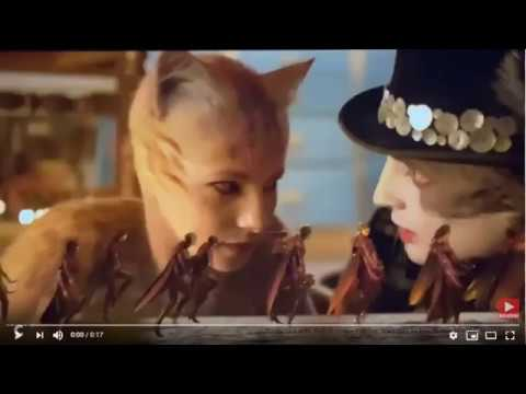 Image result for cats movie cockroaches