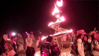 burning man desert party town black rock city nevada
