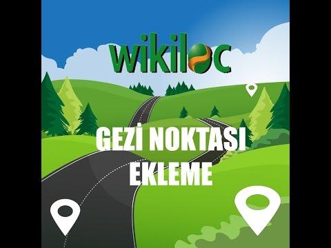 Wikiloc: Rotaya sonradan gezi noktası ekleme