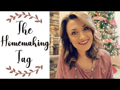 The Homemaking Tag | What I love about Homemaking | CookClea