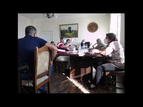 Ջրվեժ համայնքի ավագանու հերթական նիստ  09.09.2020