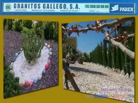 Granitos y m rmoles decoraci n fachadas viviendas y for Como remodelar mi jardin